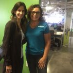 With Deb from Monix in Austin