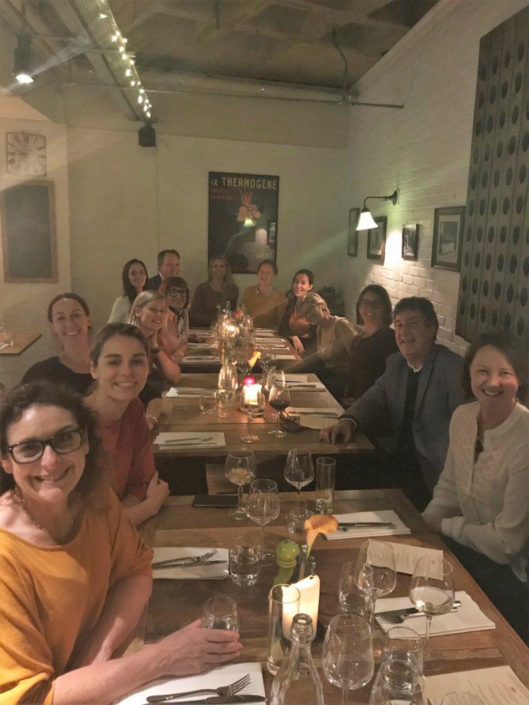 London dinner