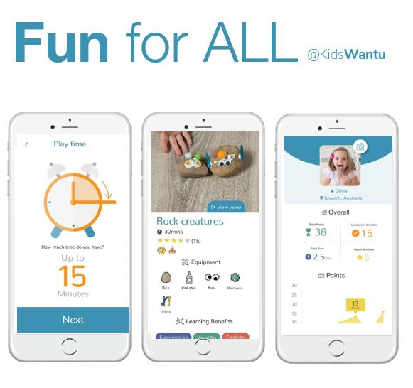 KidsWantU App testing in the Veteran's Focus Groups