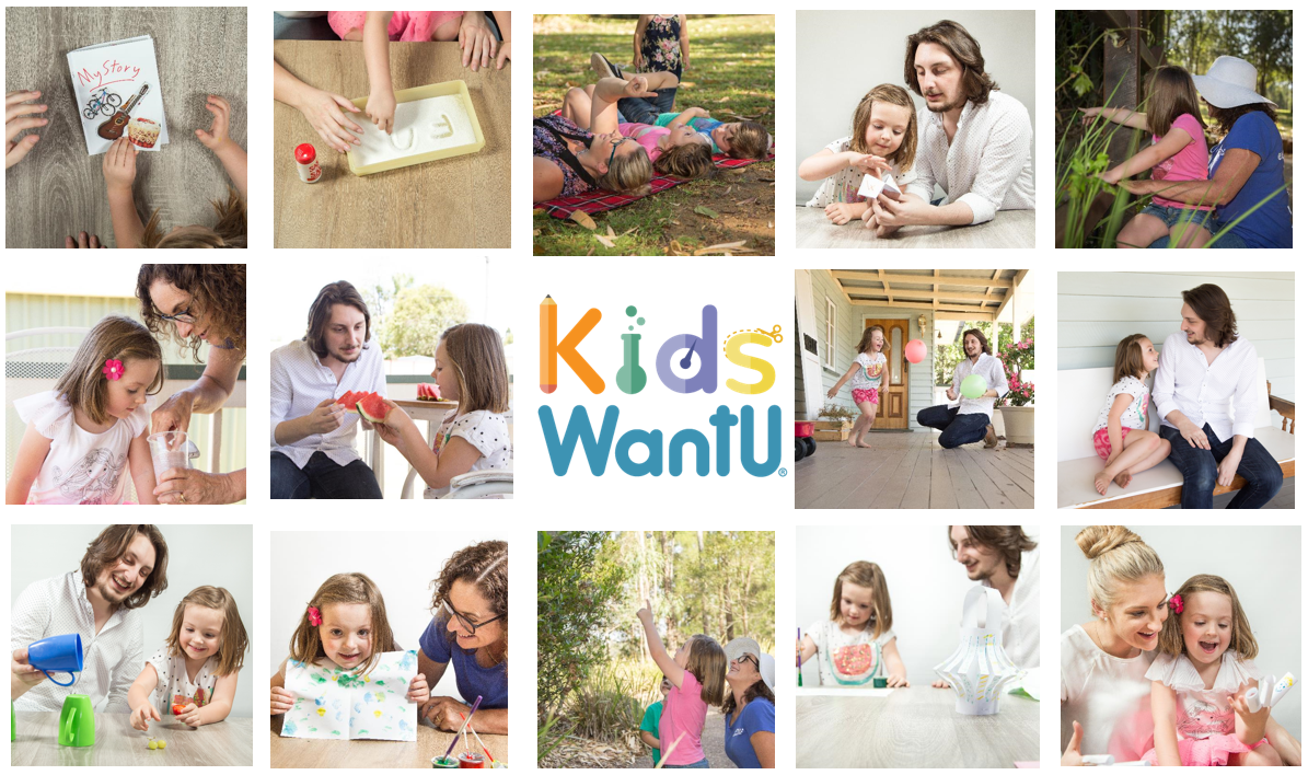 Visual image of KidsWantU app activities