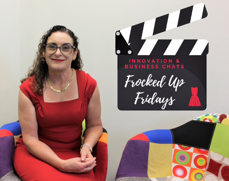 Introducing, Frocked Up Fridays – fun talking business!